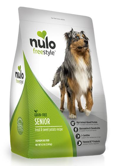 Nulo FreeStyle Grain Free Trout & Sweet Potato Senior Dry Dog Food