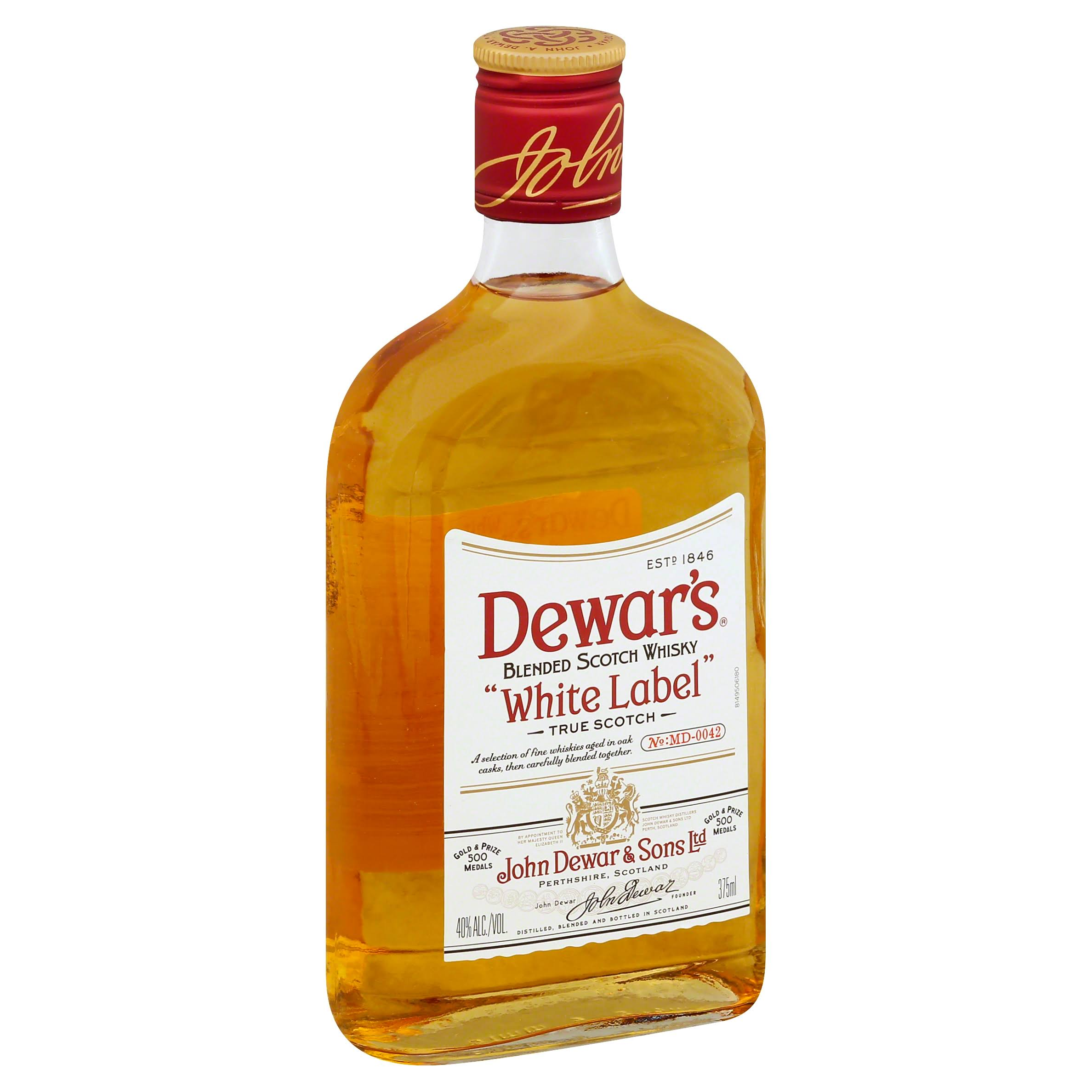 Dewar's White Label Scotch - 375 ml bottle