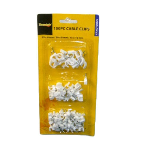 Family Orchard Wholesale Cable Clips W-Nail 100pc