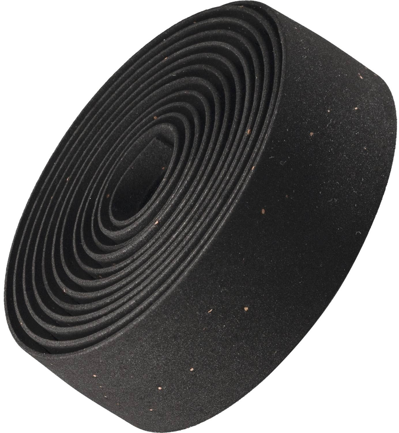 Bontrager Double Gel Cork Handlebar Tape - Black