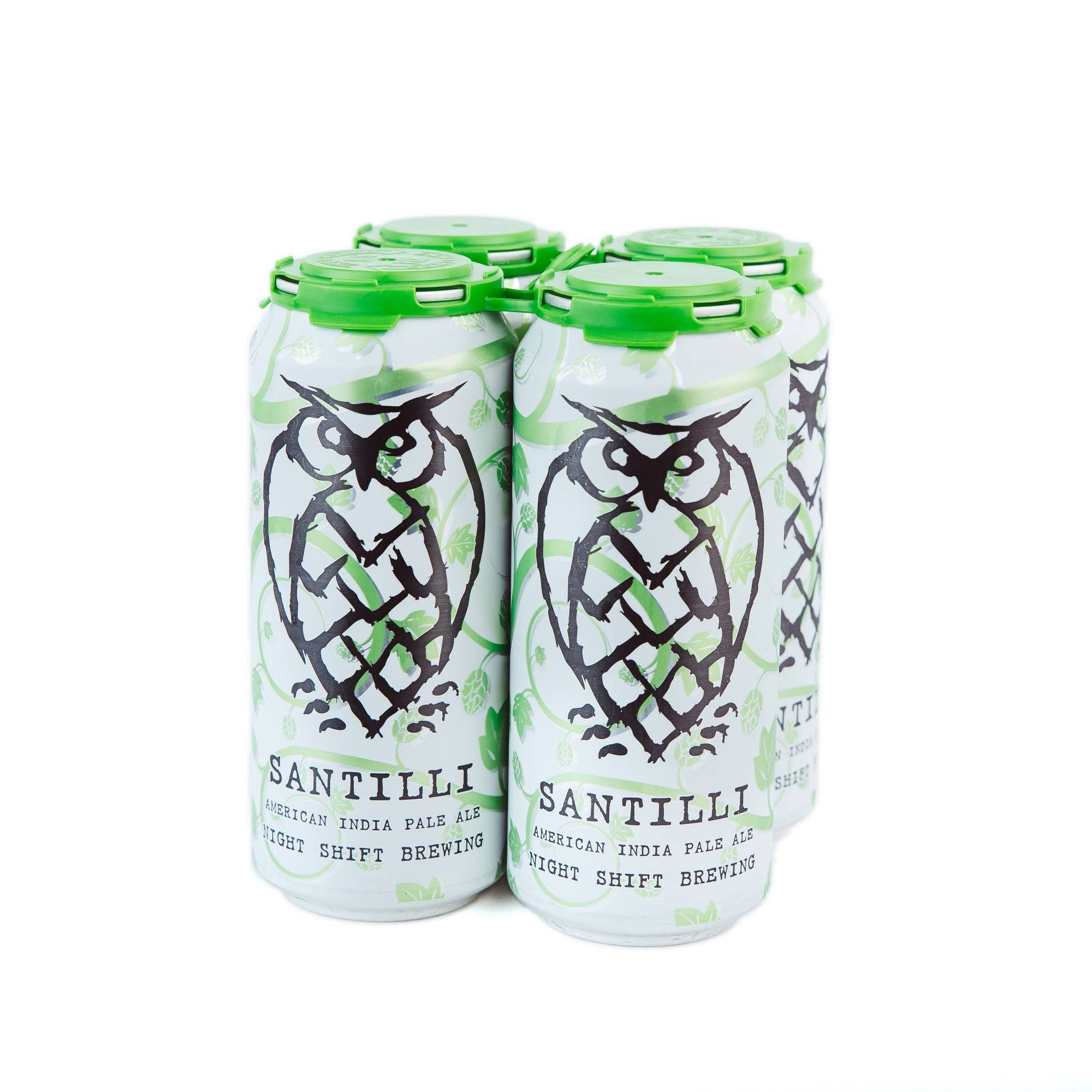Night Shift Brewing Santilli Inida Pale Ale - 16 fl oz