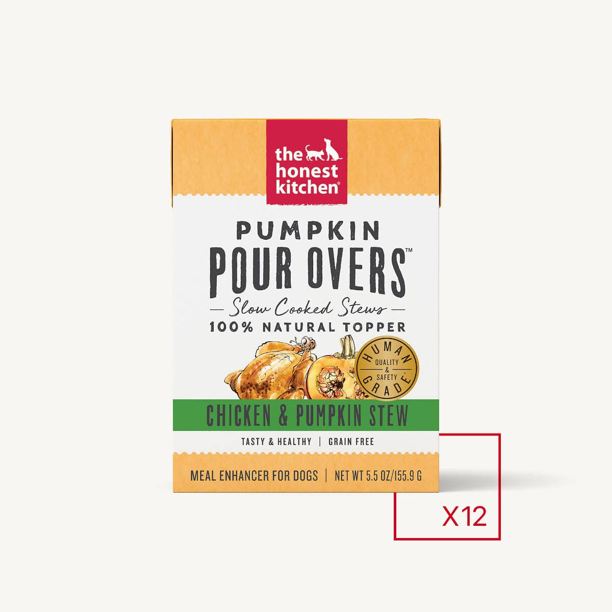 The Honest Kitchen Pumpkin Pour Overs - Chicken & Pumpkin Stew