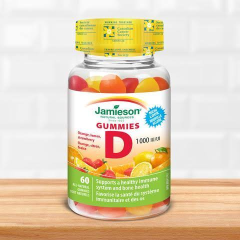 Jamieson Vitamin D Gummies - 60ct