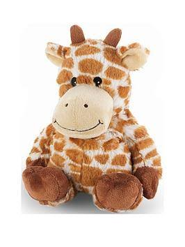 Intelex Cozy Microwavable Heatable Plush - Giraffe