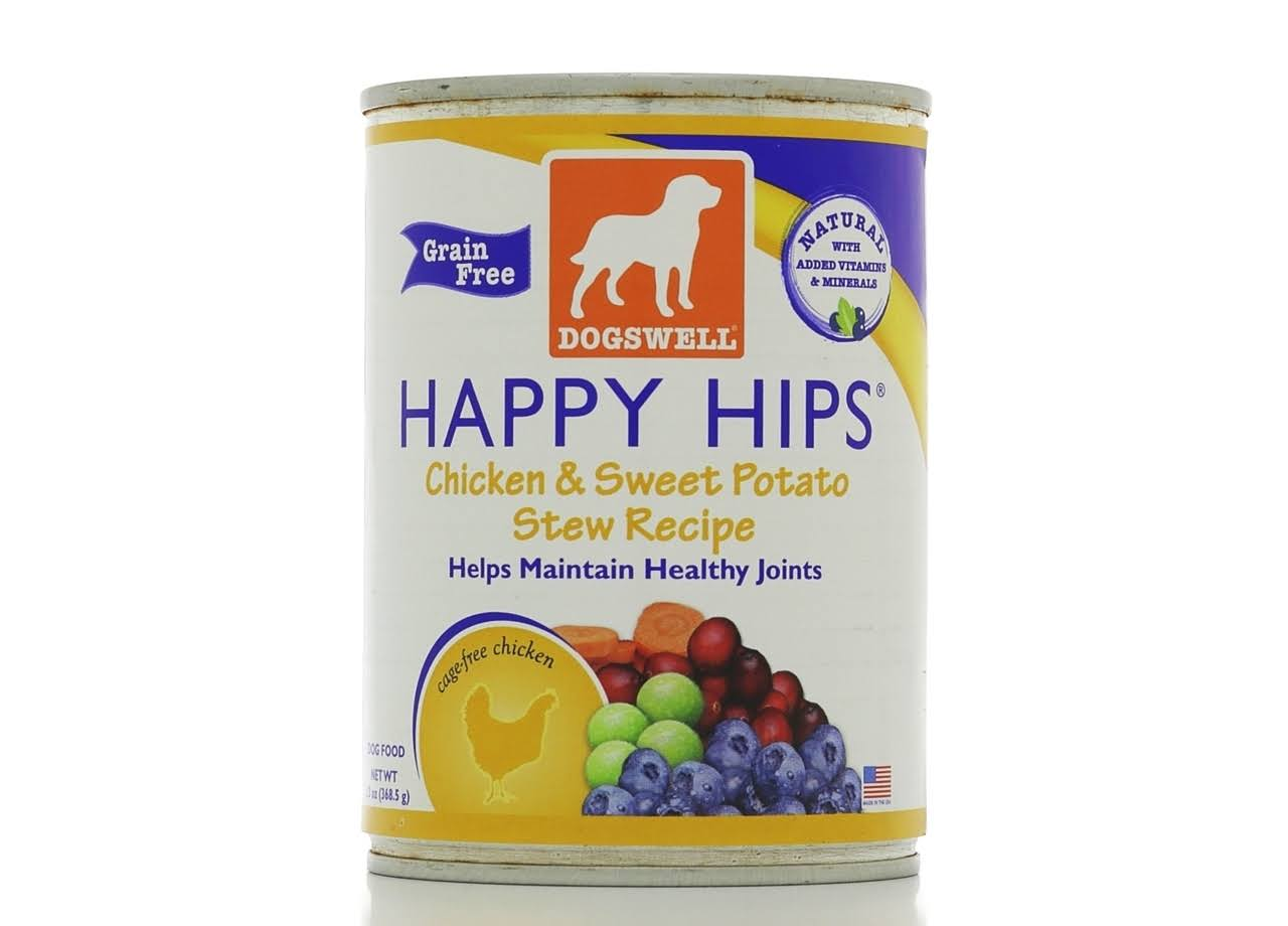 Dogswell Happy Hips for Dogs - Chicken & Sweet Potato Stew Recipe, 13oz