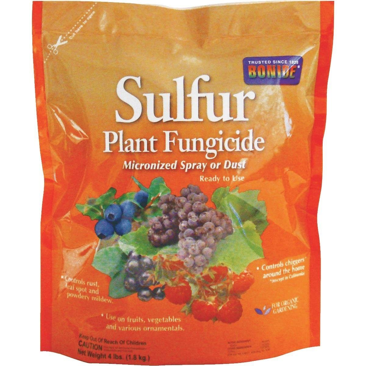 Bonide Products Sulfur Plant Fungicide