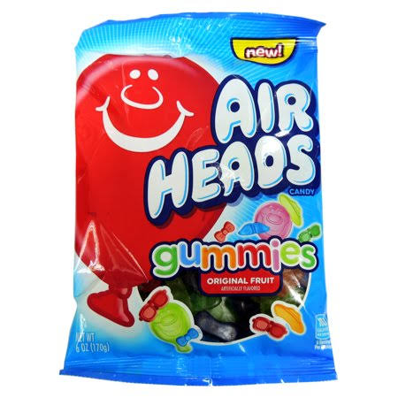 Airheads Original Fruit Gummies Candy - 6 oz
