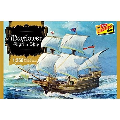 Lindberg 1 250 Mayflower Plastic Model Kit