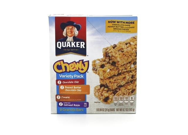 Quaker Oats 31188 Chewy Granola Bars Variety Pack