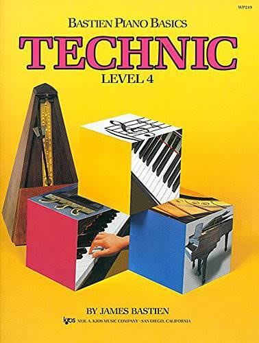 Bastien Piano Basics: Technic Level 4 - James Bastien