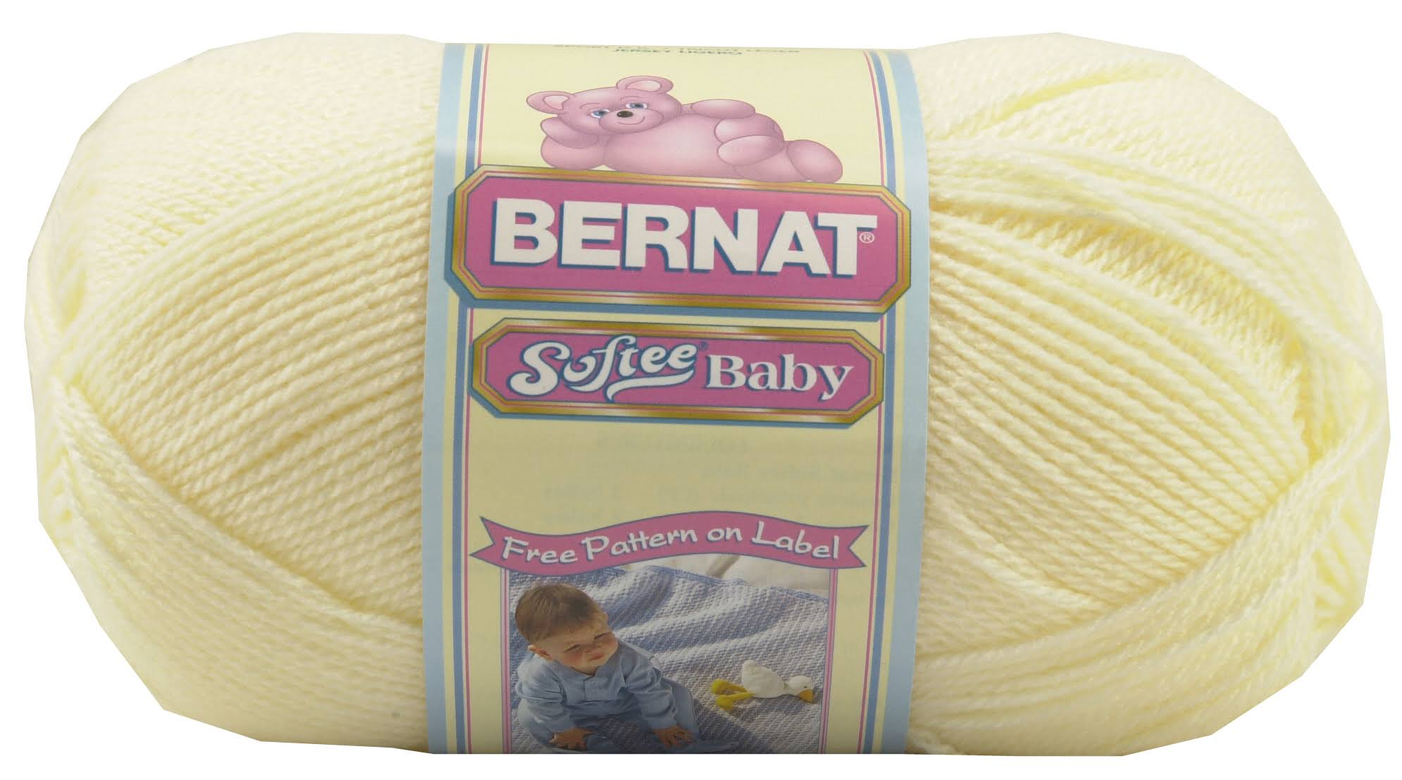 Spinrite Bernat Softee Baby Yarn - Antique White