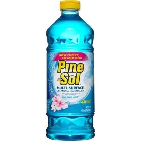 Pine-Sol Sparkling Wave Multi-Surface Cleaner and Deodorizer - 48oz