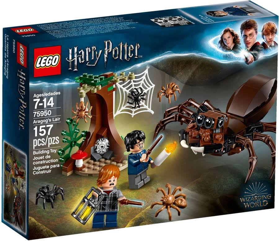 Lego 75950 Harry Potter Aragog's Lair Building Toy - 157pcs