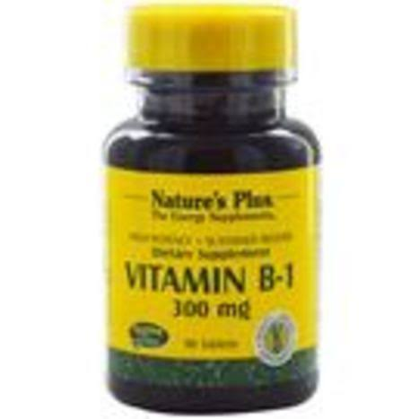 Nature's Plus Vitamin B-1 300mg Tablets - x90