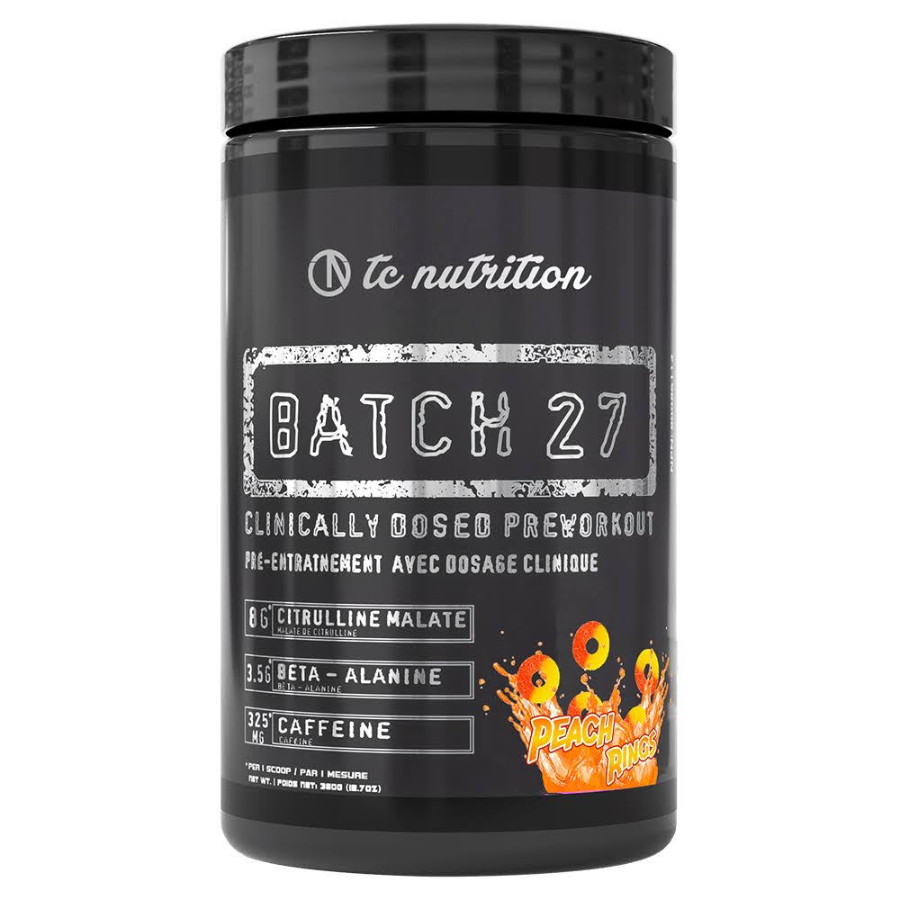 Batch 27 Pre Workout Powder - Nitric Oxide Energy Drink Supplemen...