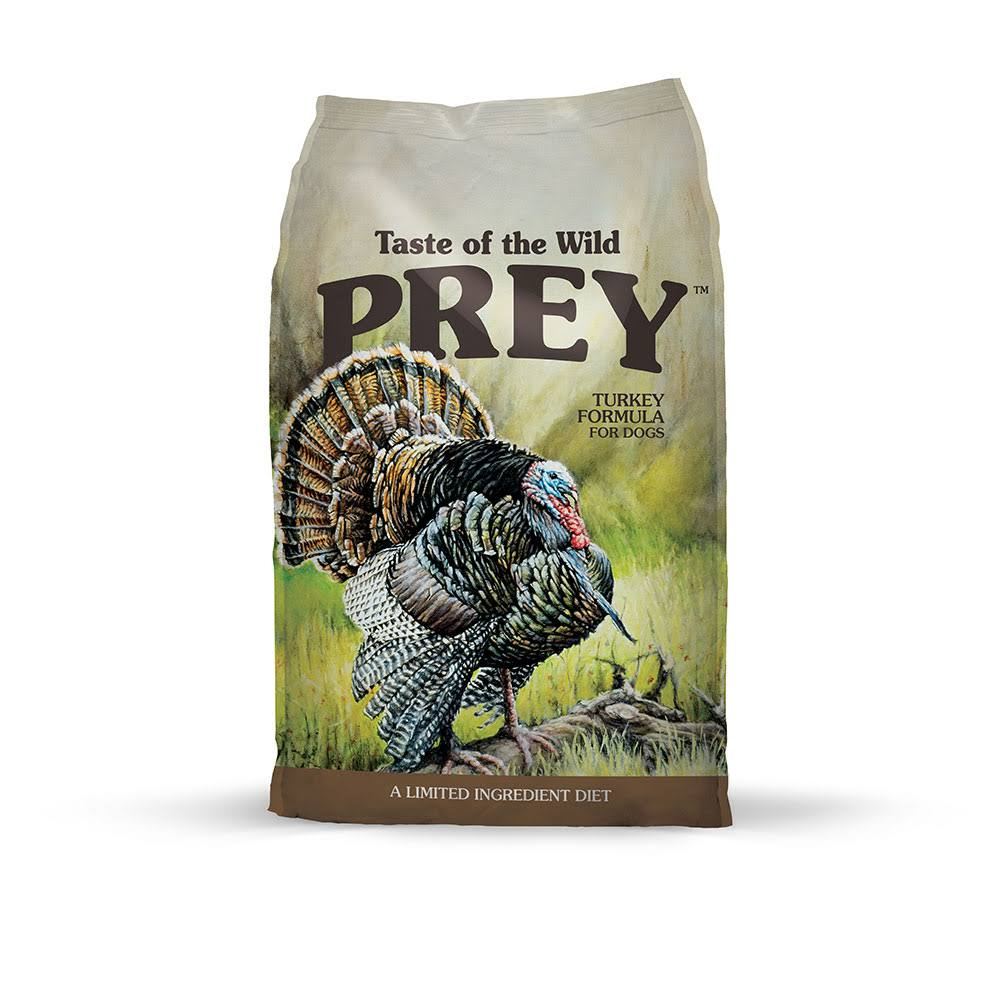 Taste of The Wild 25 lb Prey Turkey Dog Food