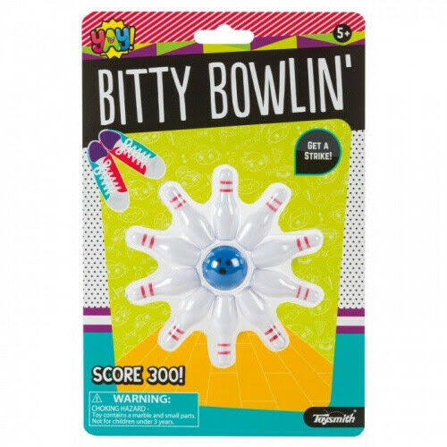 Bitty Bowling - Novelty Toy by Toysmith (90907)