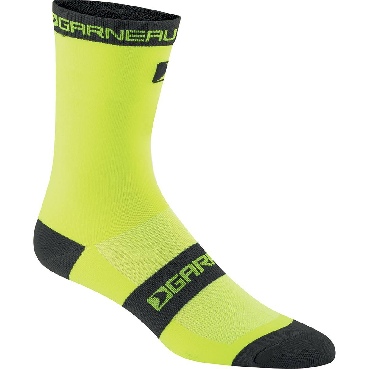 Louis Garneau Tuscan Long Socks - Yellow/Black, Large