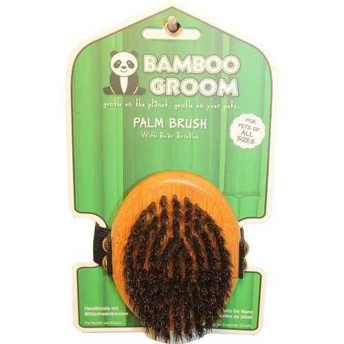 Bamboo Groom Palm Brush