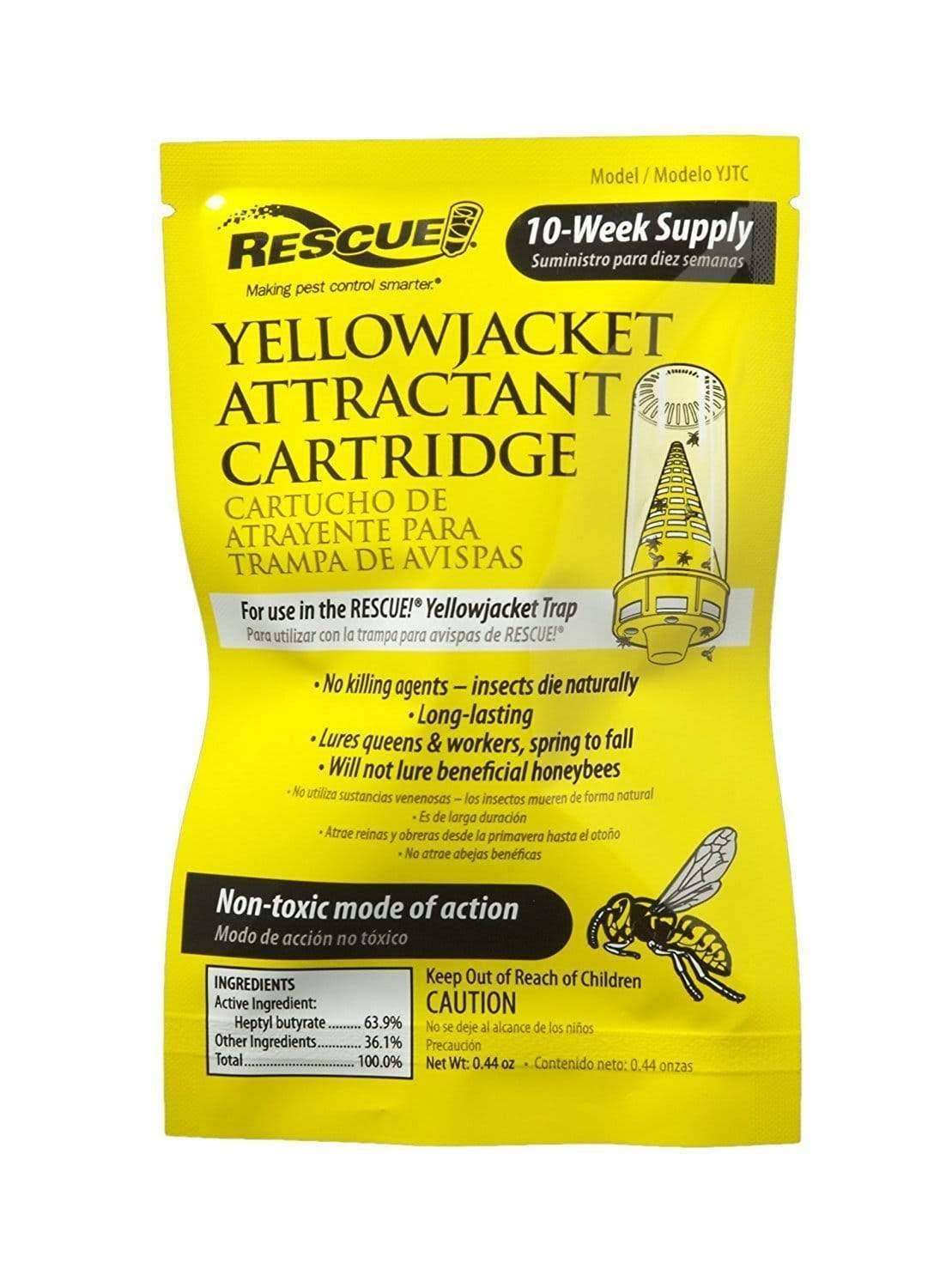 Rescue YJTC Yellow Jacket 10 Week Attractant Cartridge