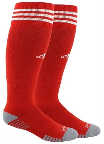 Adidas Copa Zone Cushion IV Socks - Red/White - XS