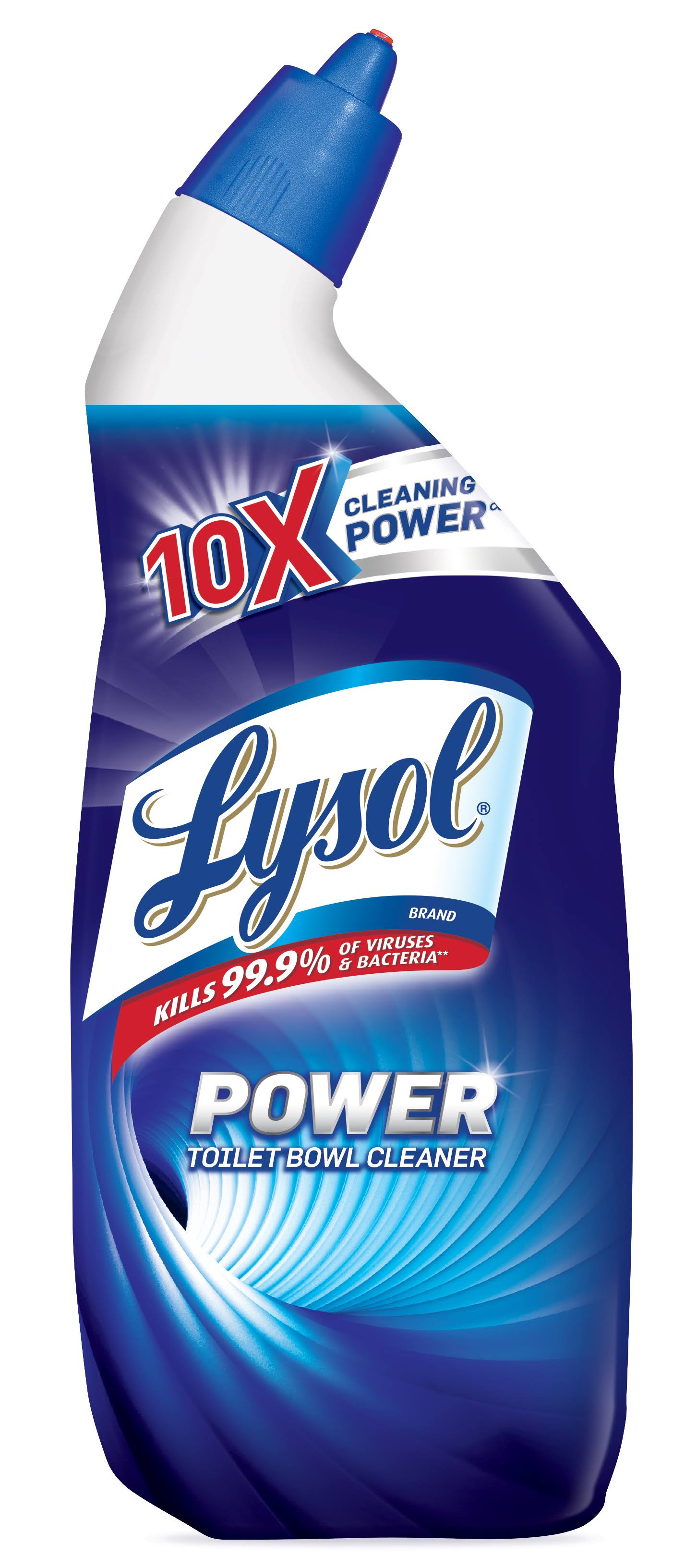 Lysol Power Toilet Bowl Cleaner - 709ml