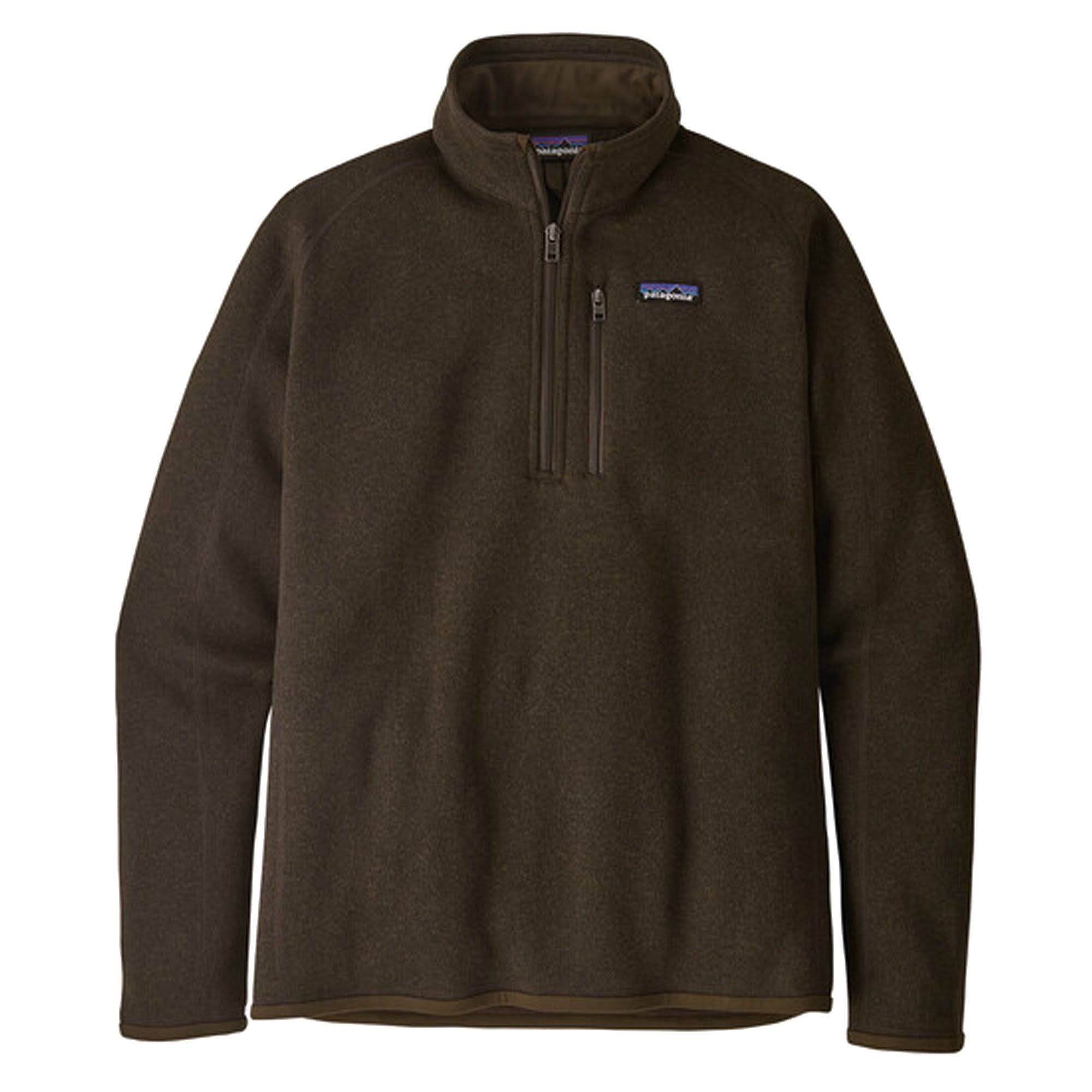 Patagonia Men's Better Sweater - 1/4 Zip, Brown