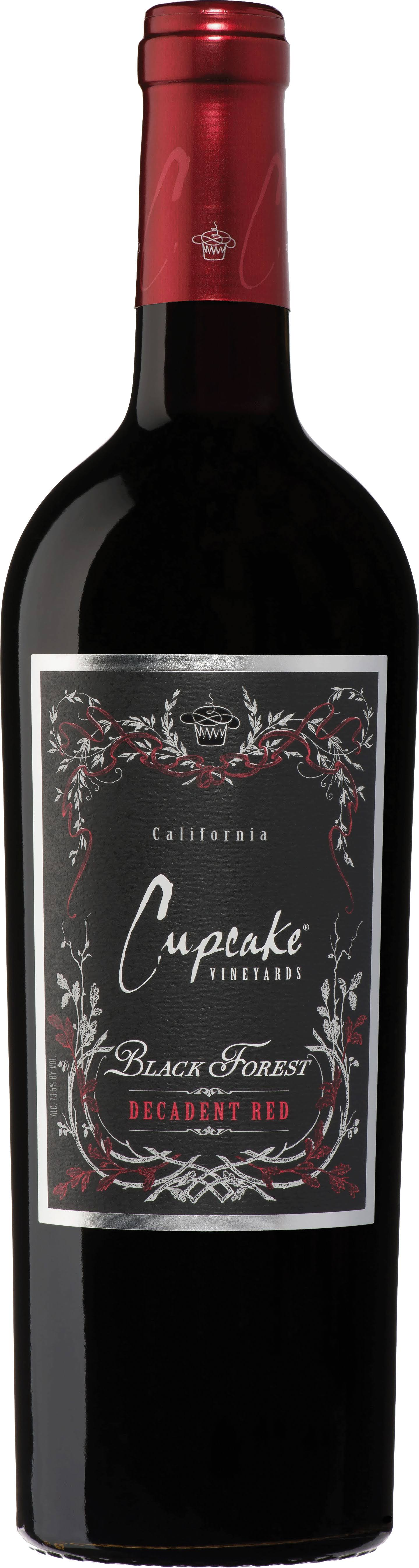 Cupcake Vineyards Black Forest Decadent Red Wine