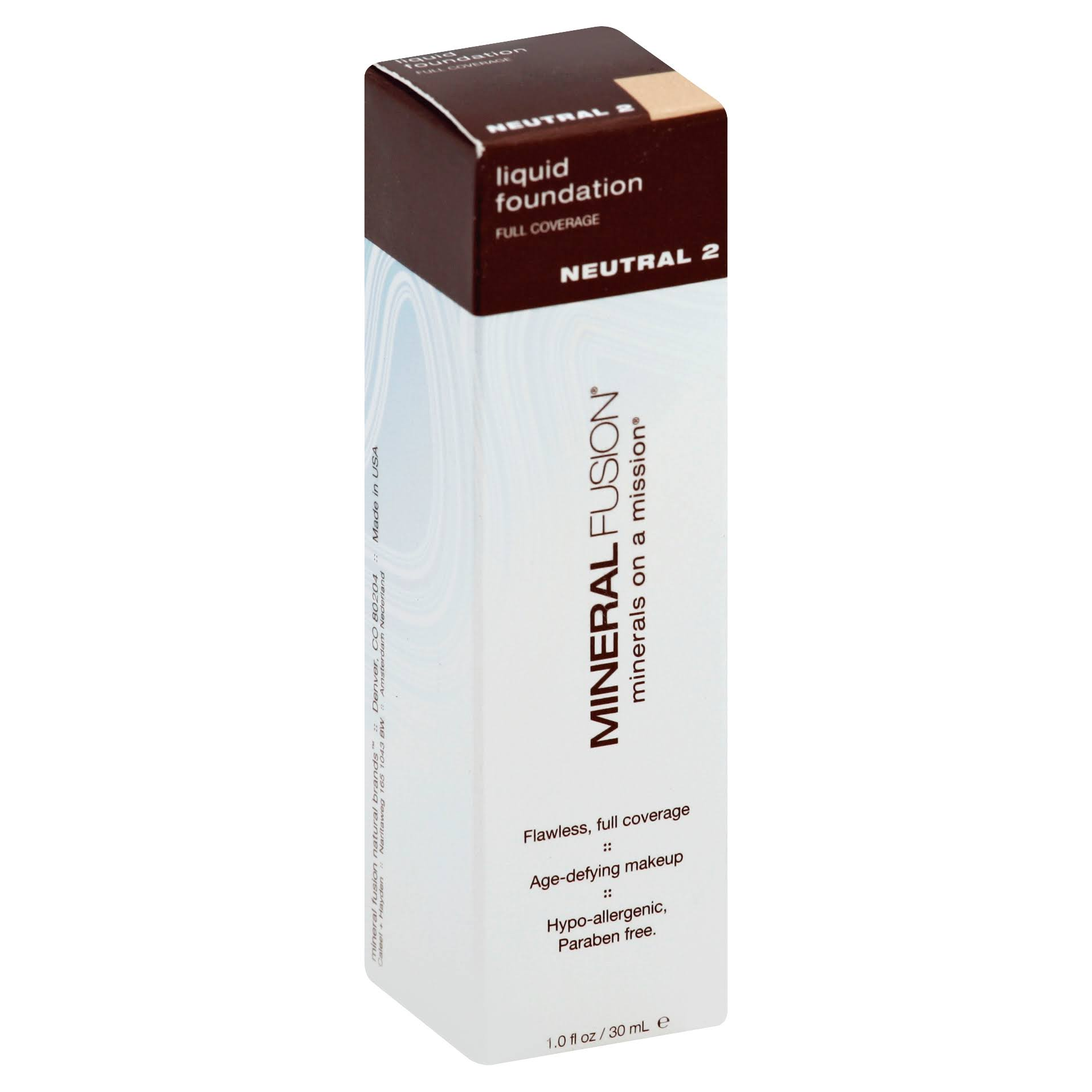 Mineral Fusion Natural Brands Liquid Foundation - 1oz