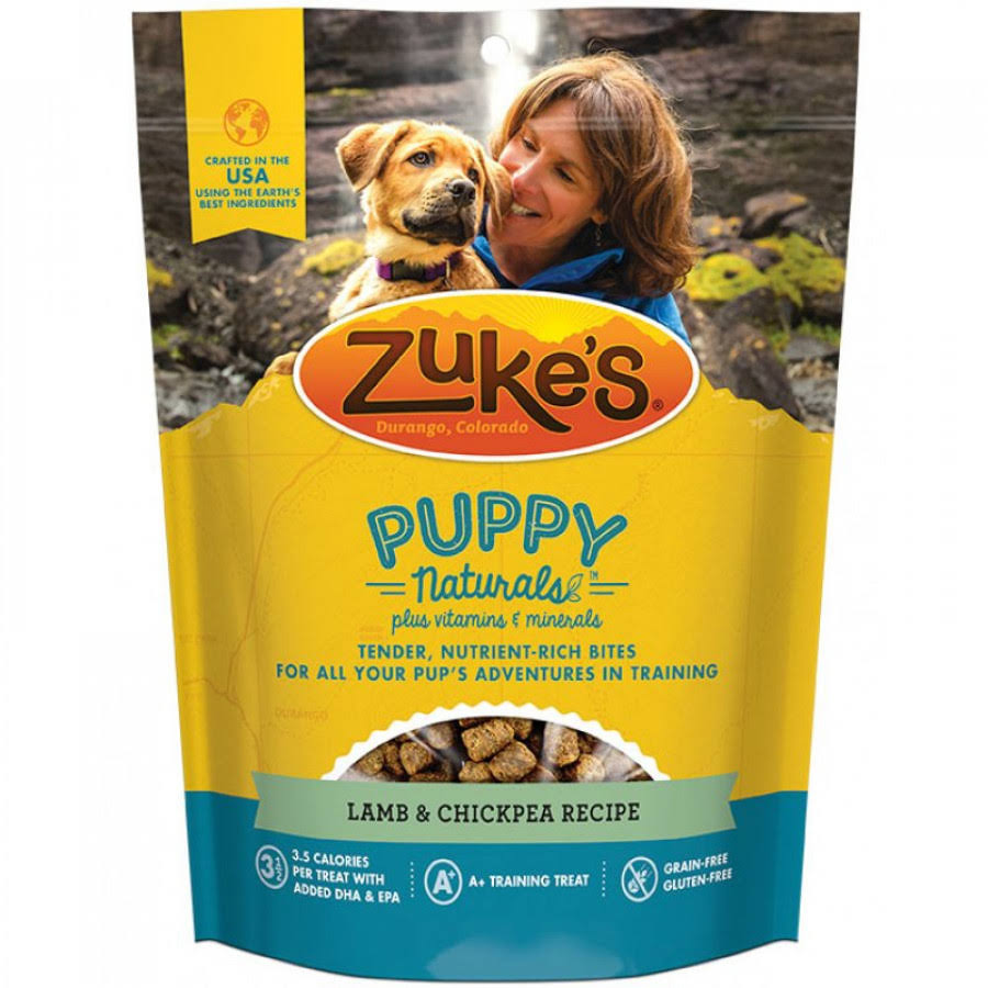 Zuke's Puppy Naturals Dog Treats - Lamb & Chickpea Recipe, 5oz