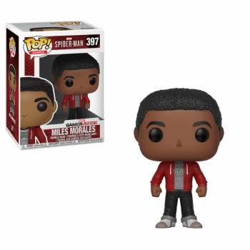 Funko Pop Marvel Spider Man Vinyl Figure - Miles Morales