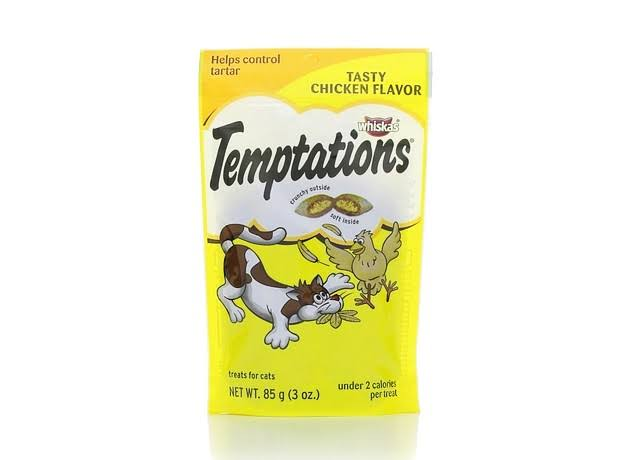 Whiskas Temptations Cat Treats - Tasty Chicken, 85g