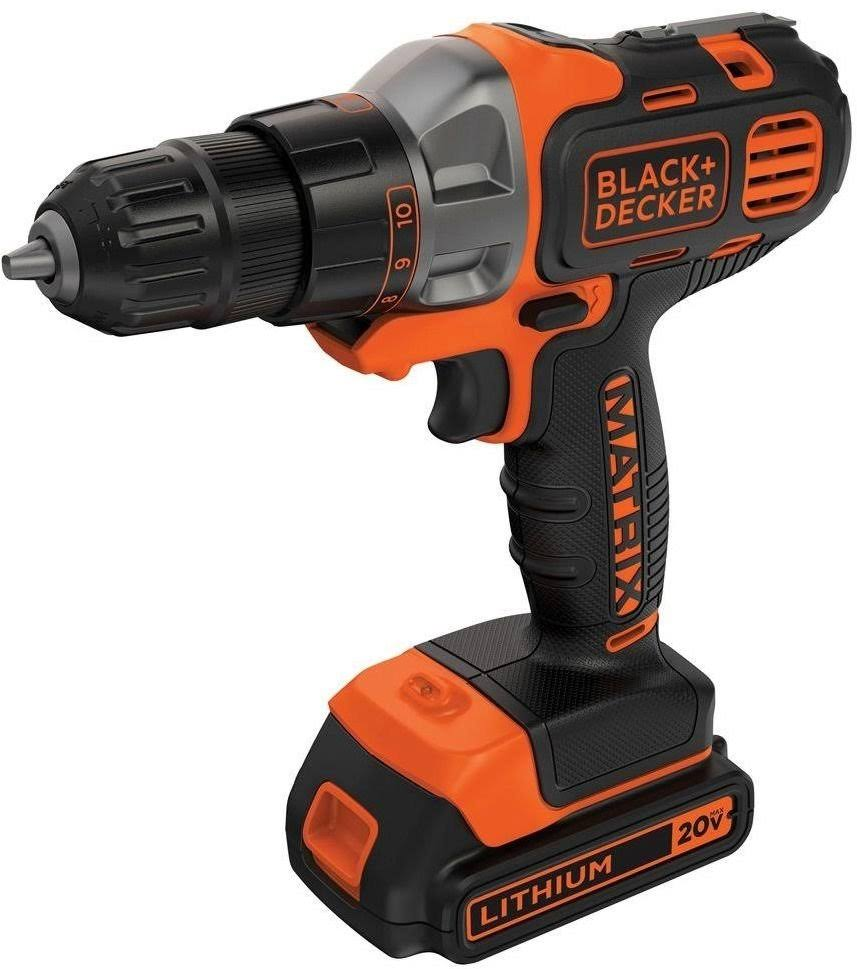 Black & Decker Max Lithium-Ion Matrix Drill - 20V