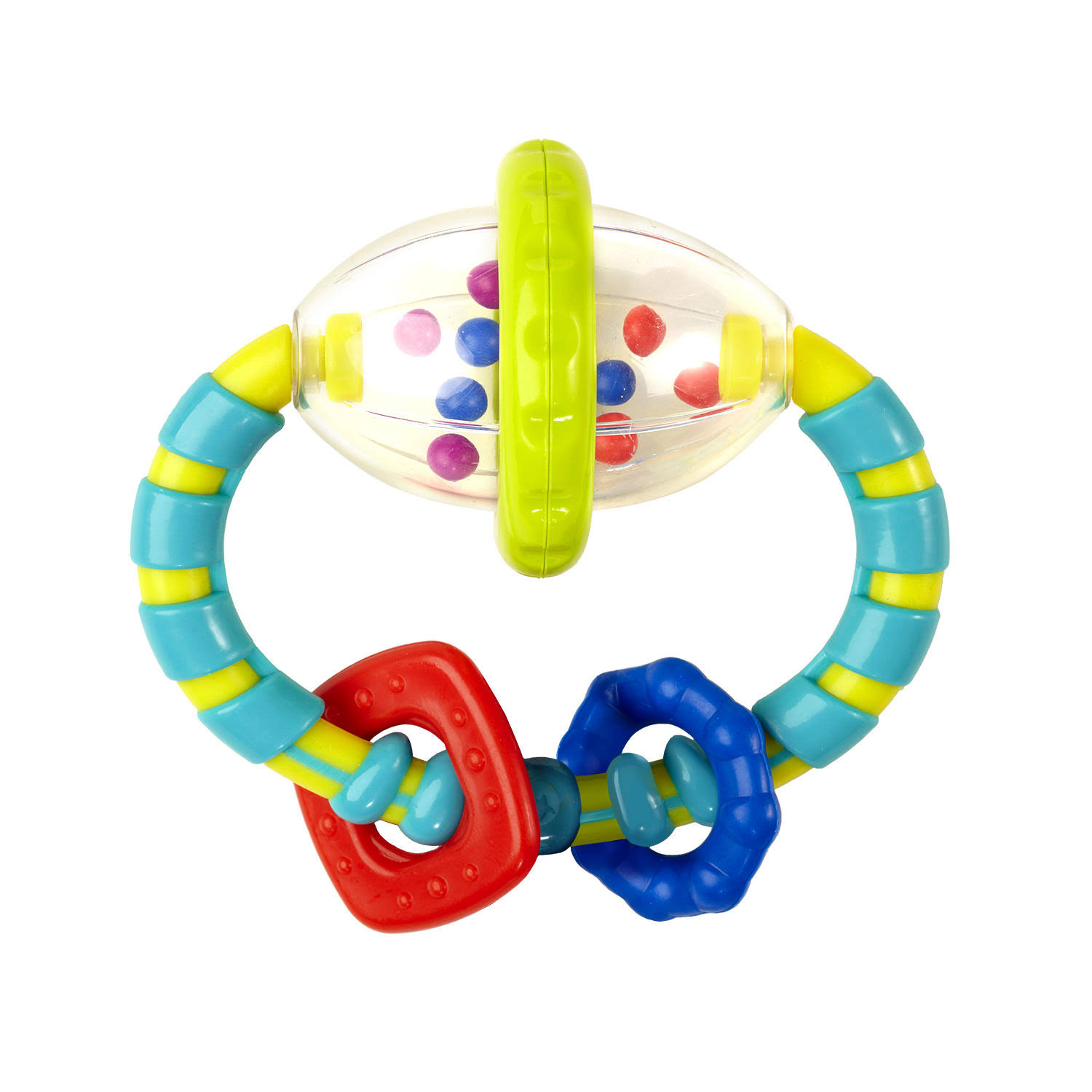 Bright Starts Grab and Spin Rattle Toy