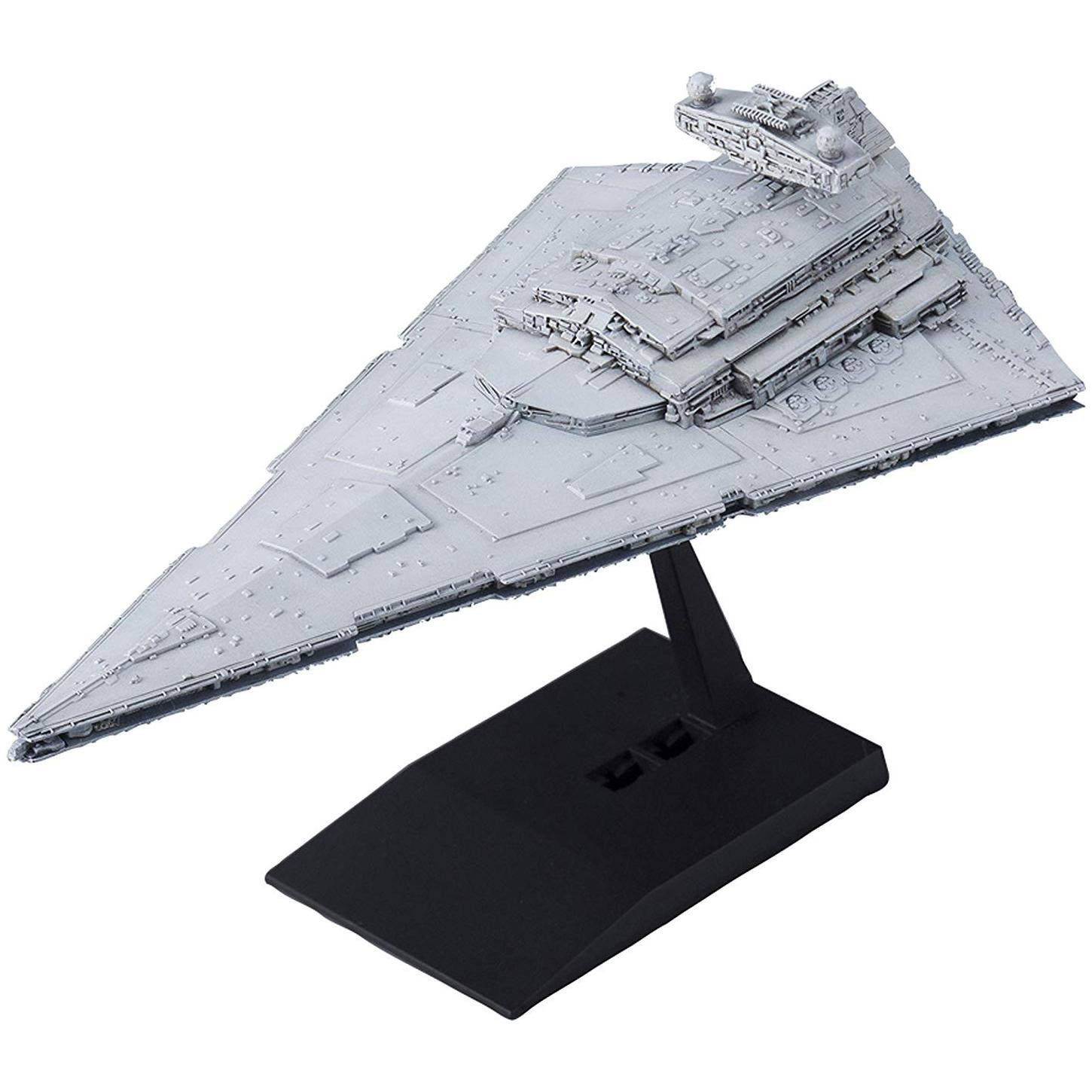 Bandai Vehicle Model 001 Star Wars Star Destroyer Plastic Model Kit