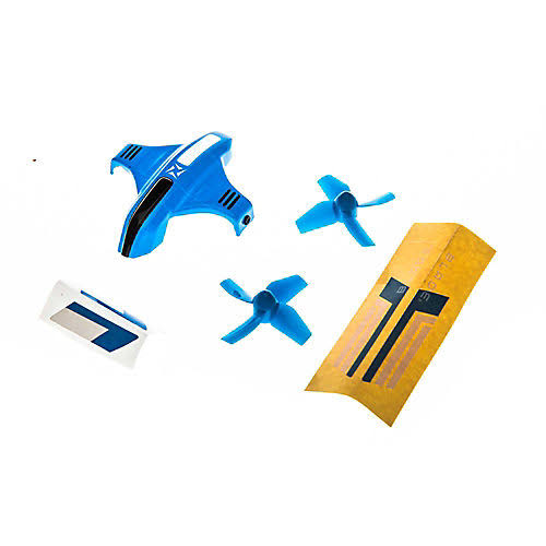 Blade Canopy Option Set with Props, Blue: Inductrix Switch BLH9809