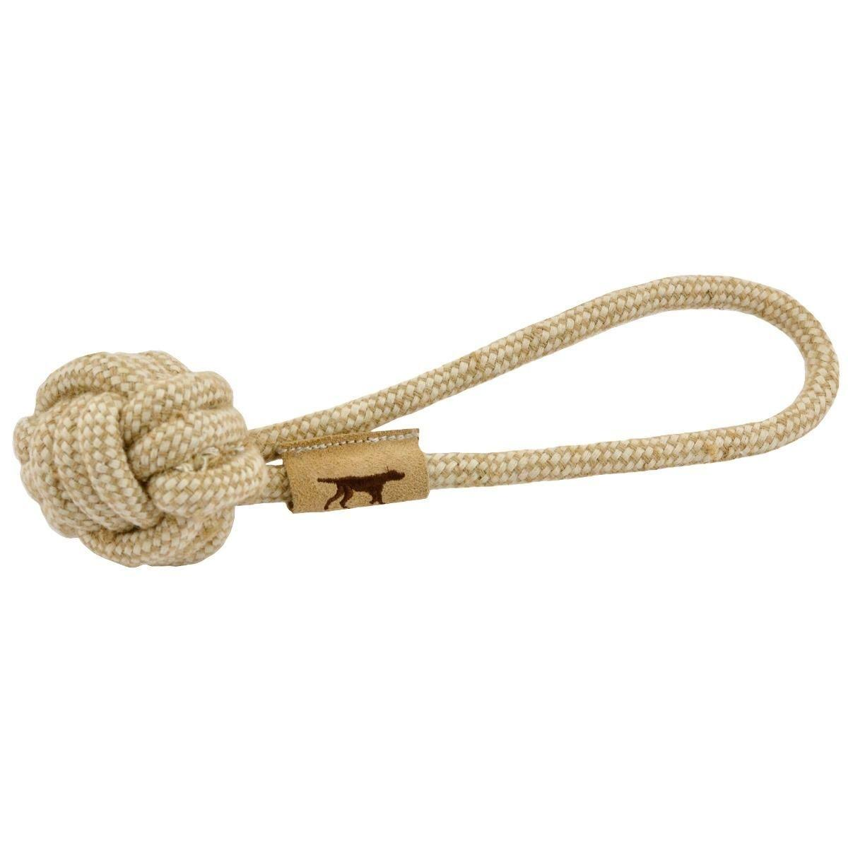 Tall Tails 88215938 Cotton Dog Rope Tug Toy Natural - 10 in.