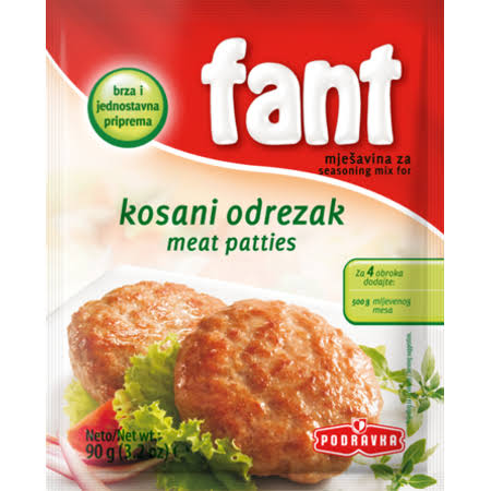 Fant Seasoning for Meat Patties 90g