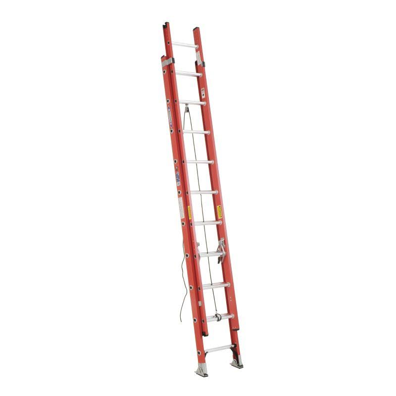 Werner Fiberglass Extension Ladder - 20'