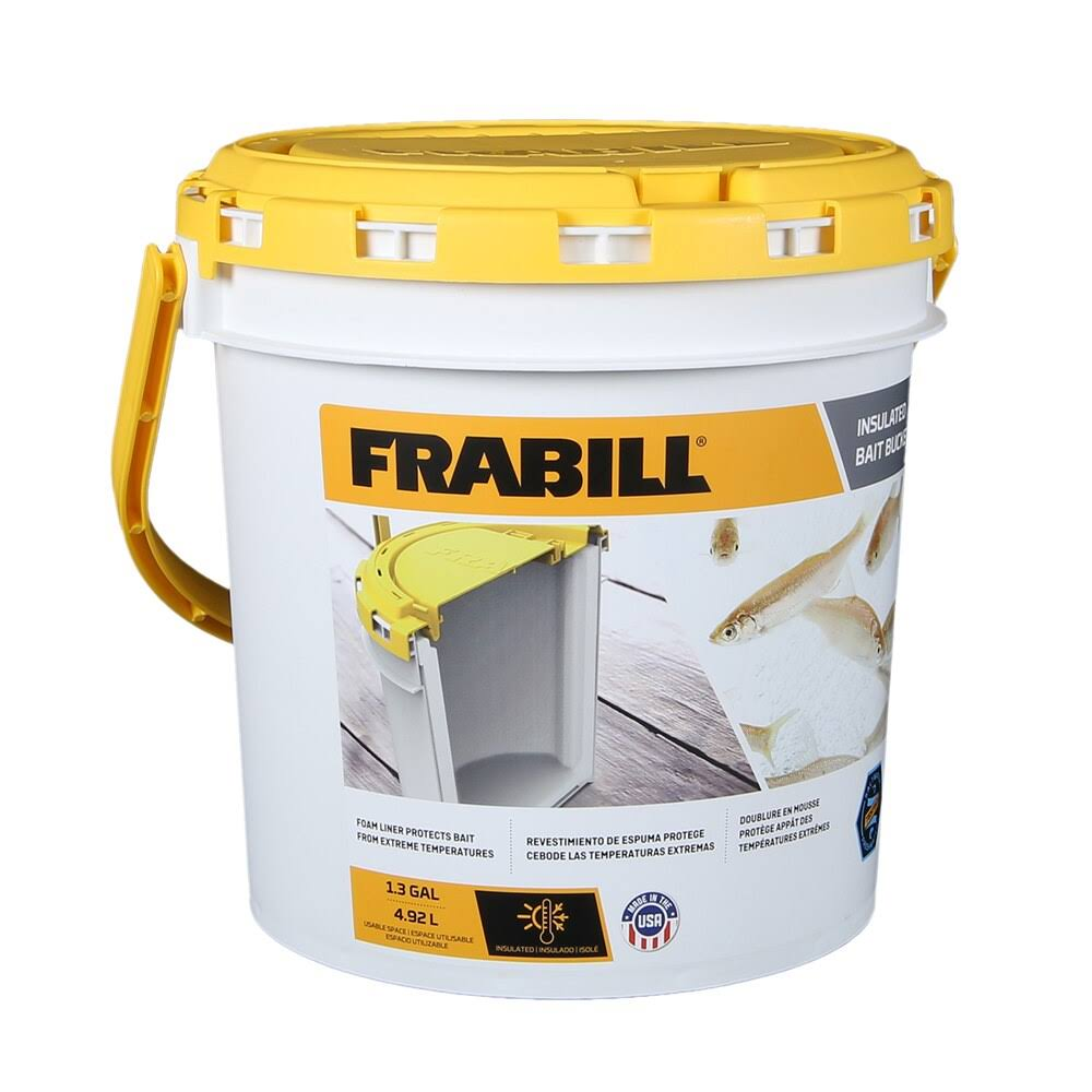 Frabill Insulated Bait Bucket