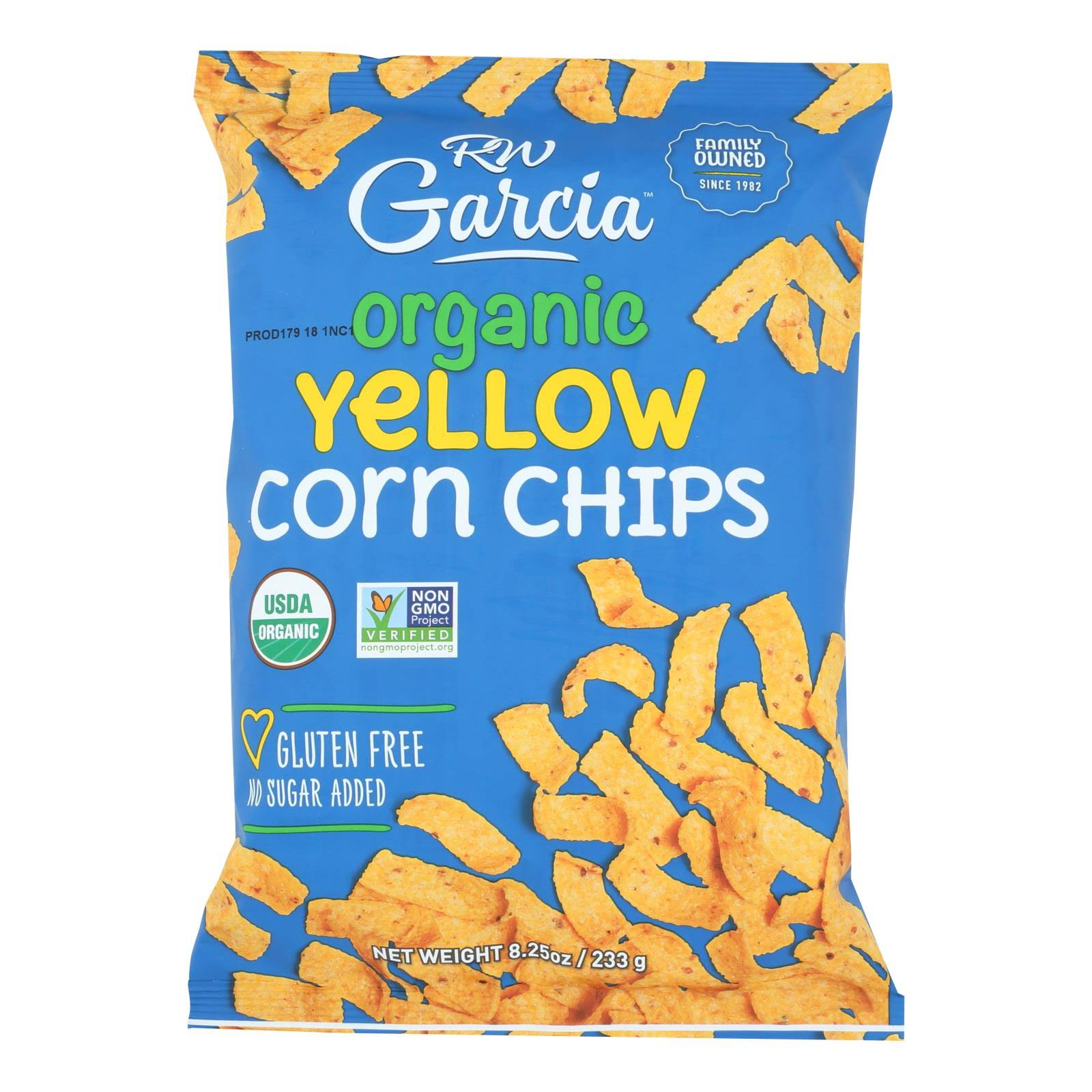 RW Garcia Organic Corn Chips - Yellow
