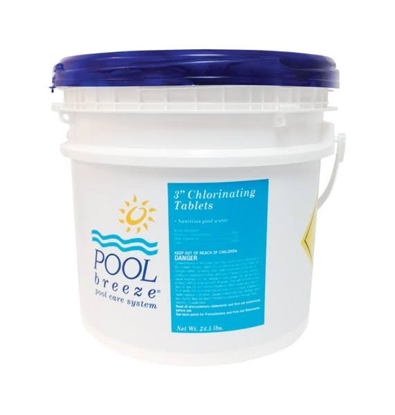 Pool Breeze Pool Care System Chlorinating Chemicals 24.5 lb.