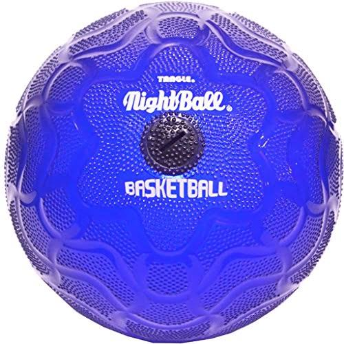 Tangle NightBall Glow in The Dark Light Up LED Basketball - Blue