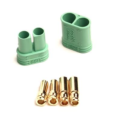 Castle Creations 011-0065-00 4.0 mm Polarized Connectors
