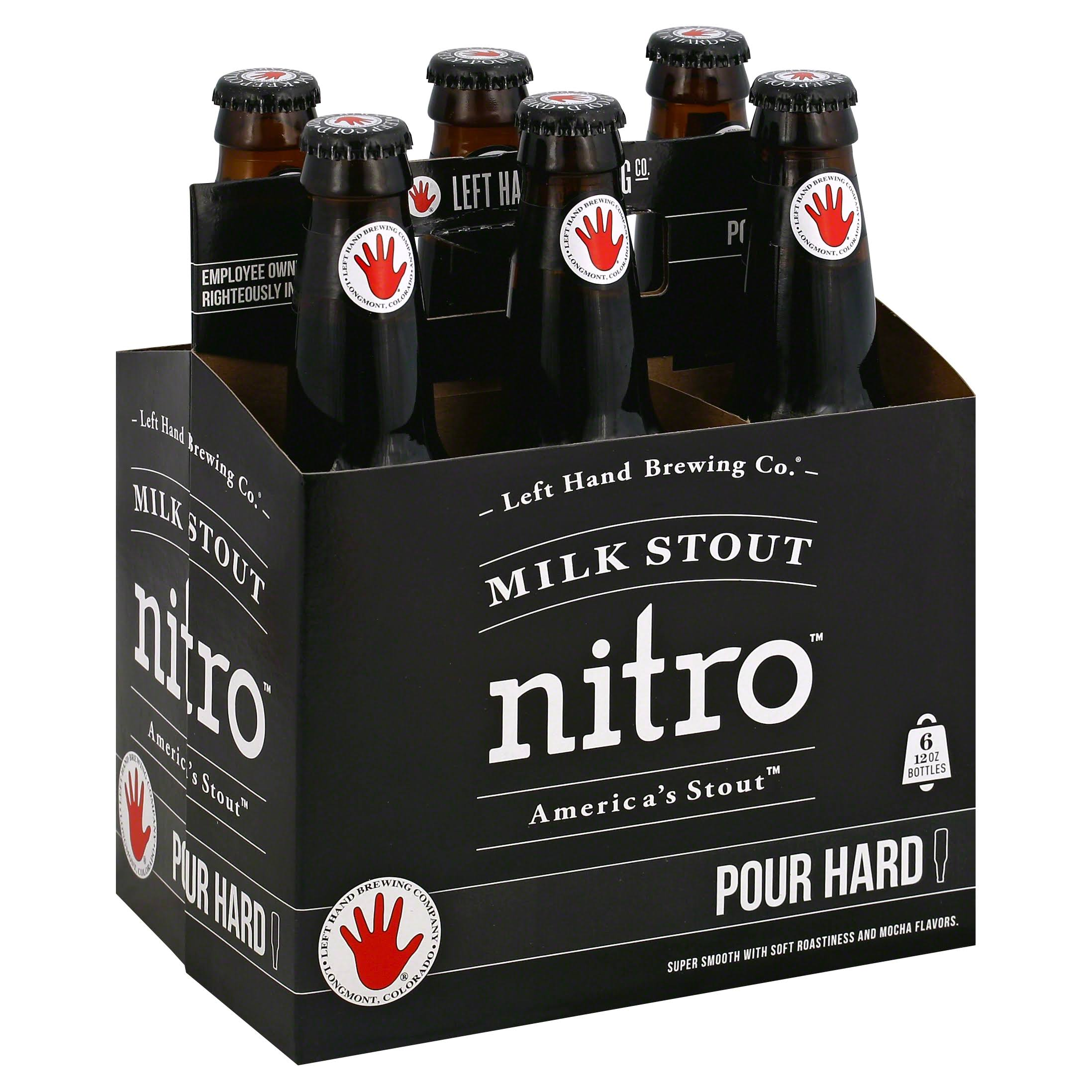 Left Hand Milk Stout Nitro - x6