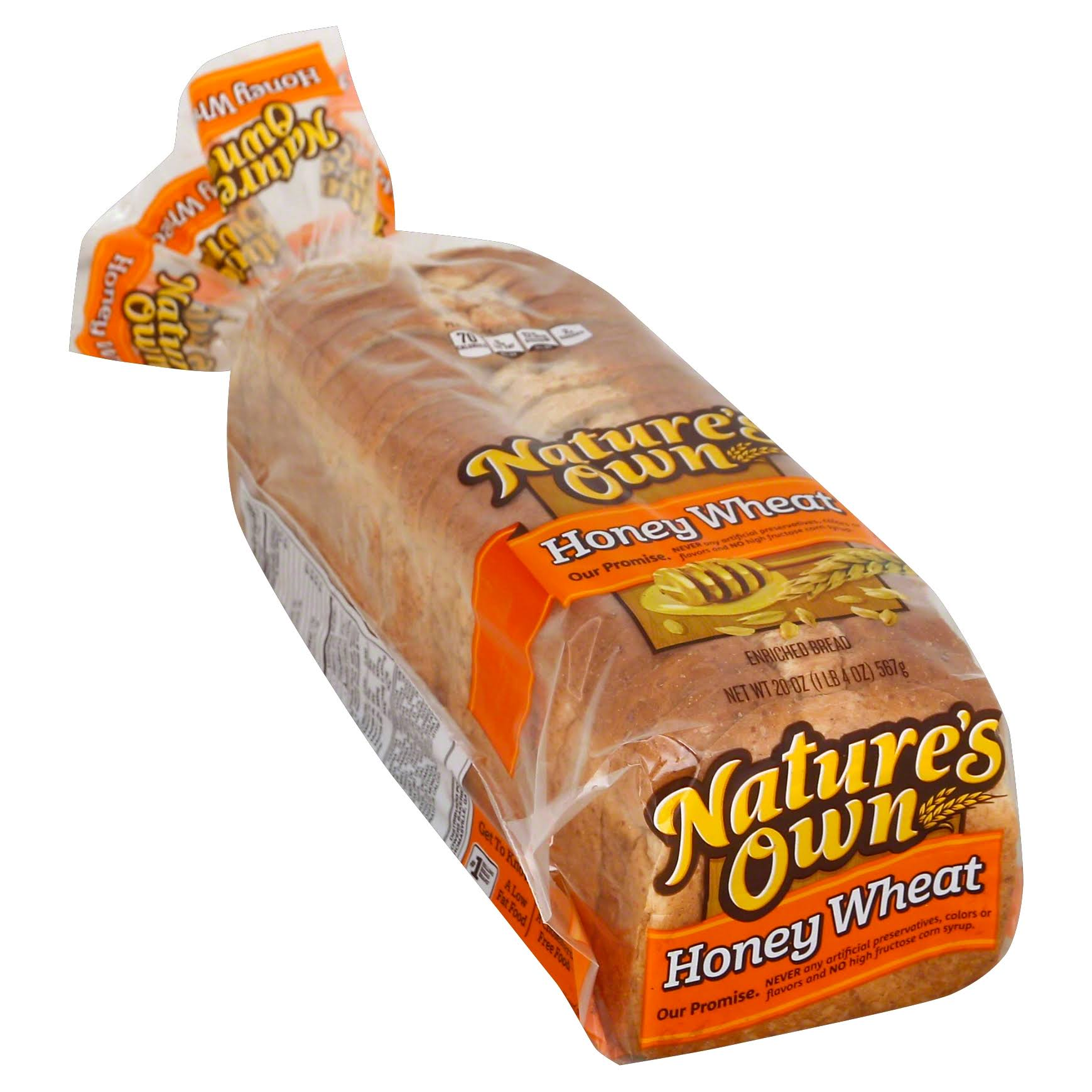 Nature's Own Honey Wheat Bread - 20oz