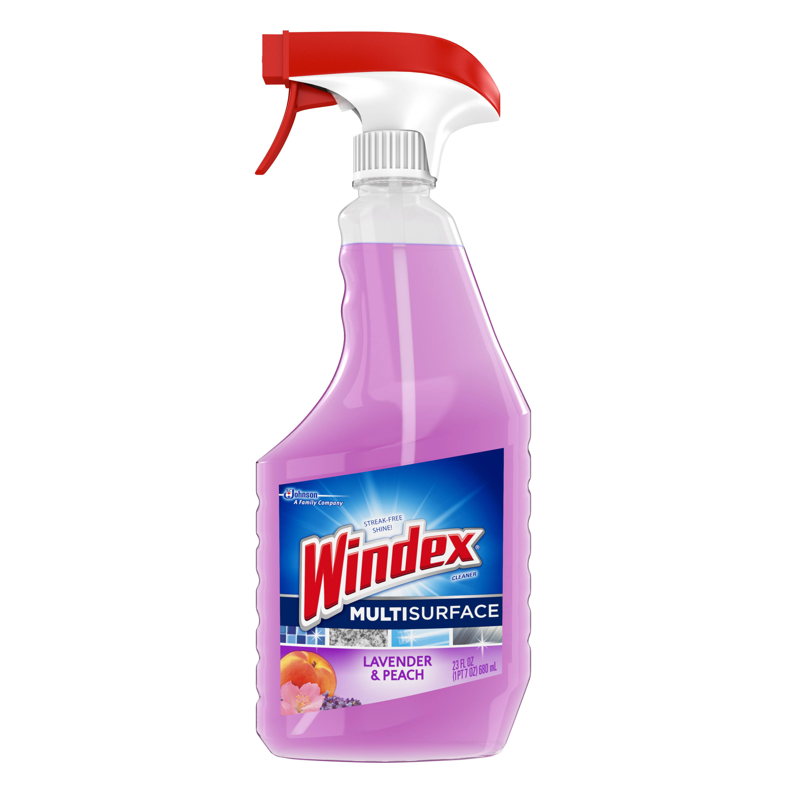 Windex Multi Surface Cleaner Spray - Lavender and Peach Blossom, 23oz