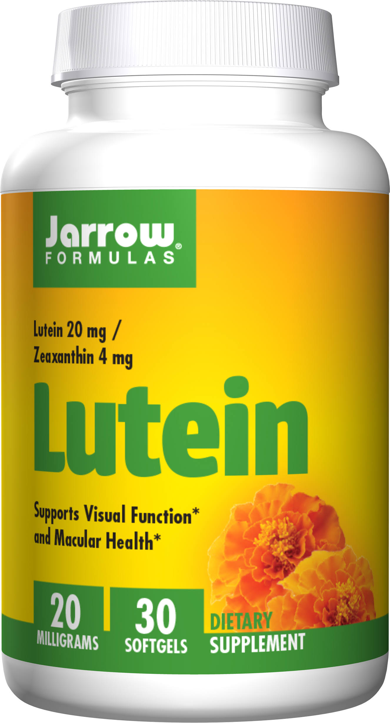 Jarrow Formulas Lutein - 20mg, 30 Softgels