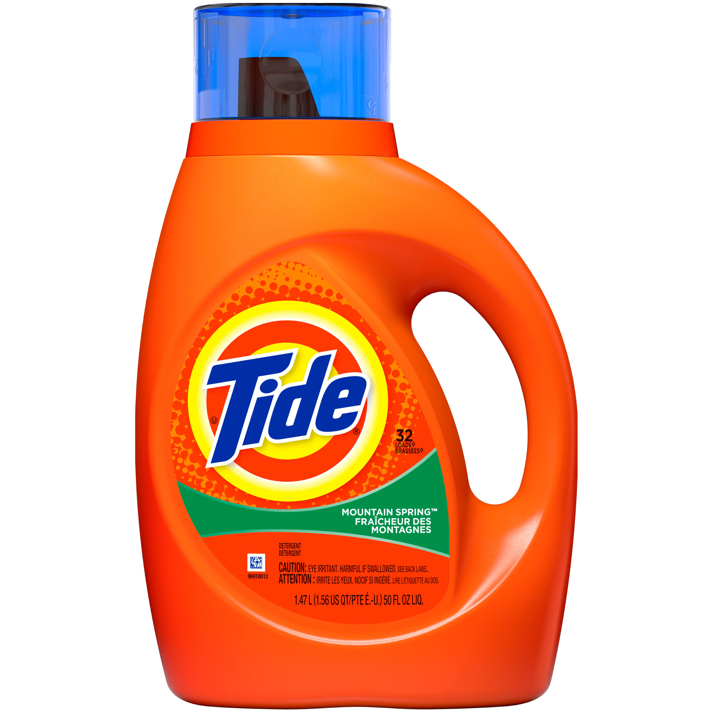 Tide Liquid Laundry Detergent - 32 Loads, Mountain Spring Scent