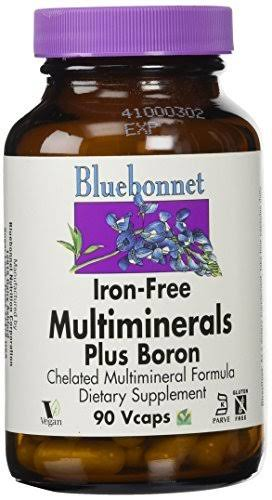 Bluebonnet Multi Mineral Plus Boron - 90 ct